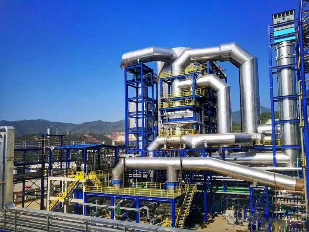 Bestgrand Chemical Group has successfully started the worlds largest WSA plant Some