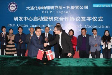 Topsoe establishes R&D Center at Dalian Institute for Chemical Physics, China