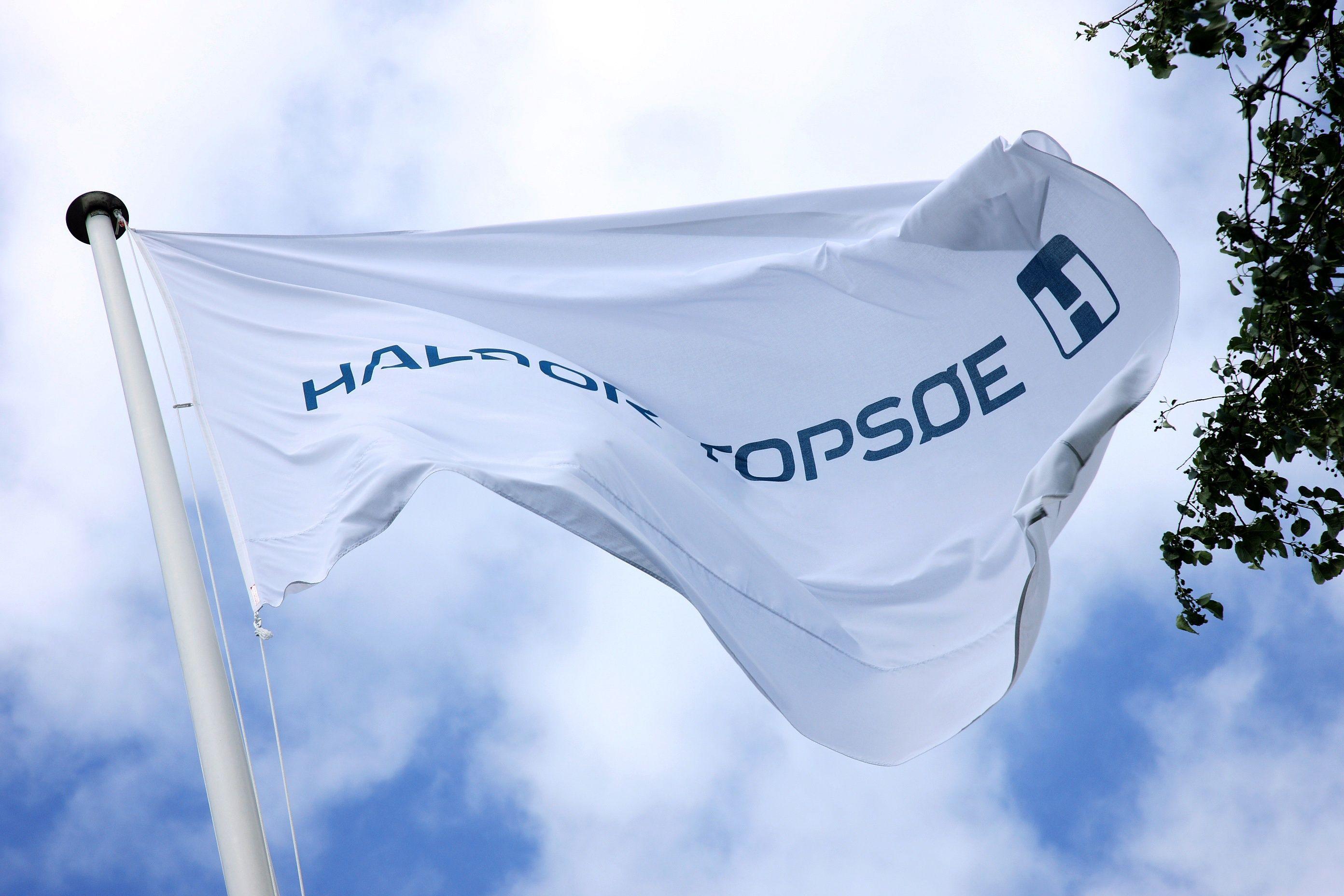 Haldor Topsoe's flag