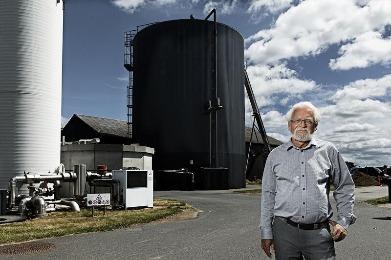Project Leader, Senior Principal Scientist John Bøgild Hansen at the research facility in Foulum, Denmark, where Haldor Topsoe and University of Aarhus are also demonstrating a more efficient use of biogas.