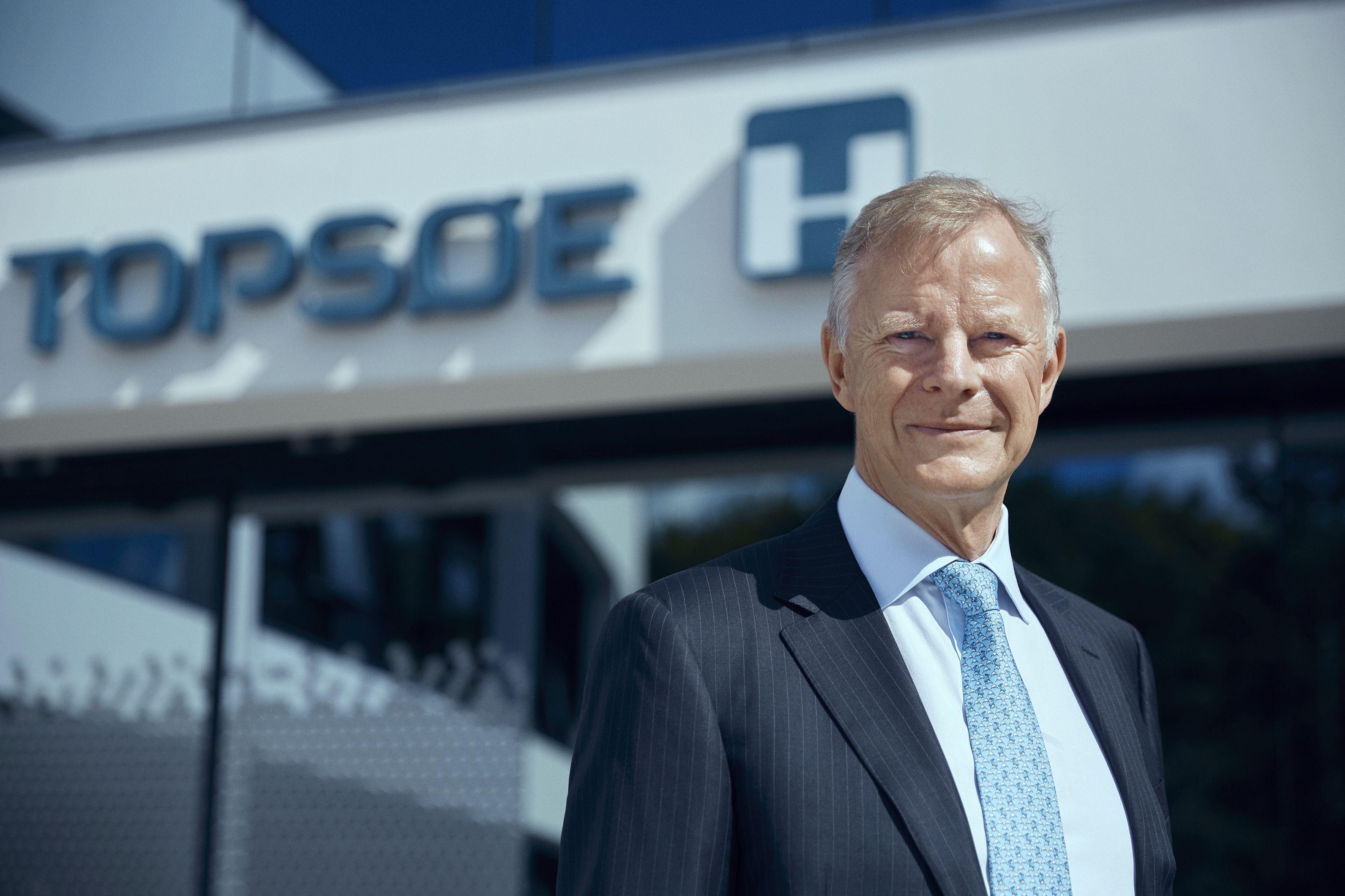 Roeland Baan joined Haldor Topsoe in June as CEO
