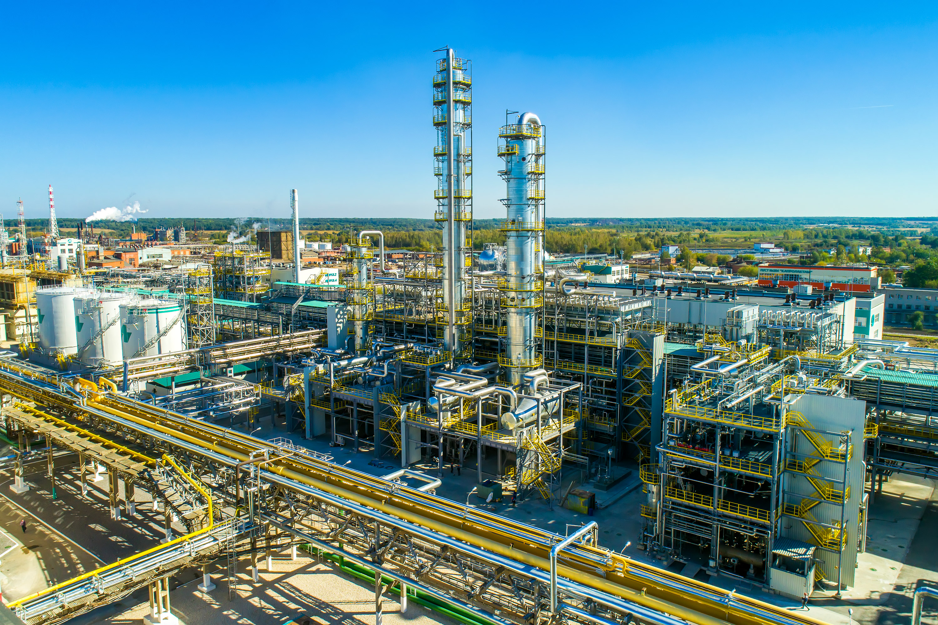 The IMAP Methanol+™ plant at UCC Shchekinoazot's site in Tula, Russia, is the first greenfield plant of its kind