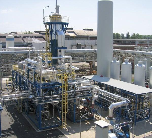 Topsoe HTCR plant