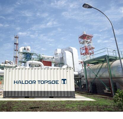 Haldor Topsoe's eCOs™ is a flexible onsite solution for a reliable supply of CO.